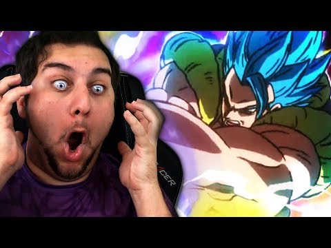 GOGETA BLUE IS CANON! | Kaggy Reacts to Gogeta VS Broly Official Teaser + BREAKDOWN