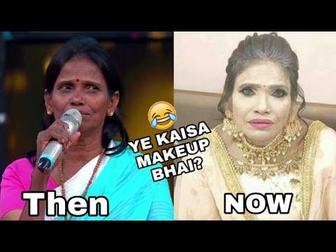 Funniest Make Over Ever Ranu Mandal Kal Ka Londa