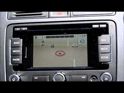 How To: Using the Volkswagen RNS 315 Navigation