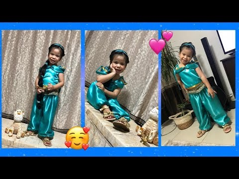 DIY INSPIRED PRINCESS JASMINE COSTUME