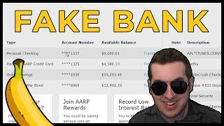 Scammers Discover My Fake Bank & Lose Their Minds