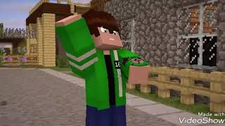 Minecraft ben 10 transformations part 1