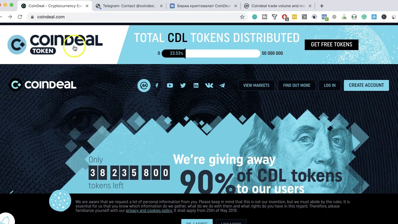 Cryptocurrency Exchange 101 - CoinDeal Token Review 8