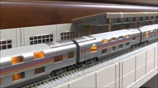 KATO E26系 カシオペア です。 日本では数少なくなった機関車牽引の客車...