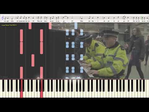 Песня друзей (Бременские музыканты) (Ноты и Видеоурок для фортепиано) (piano Cover)