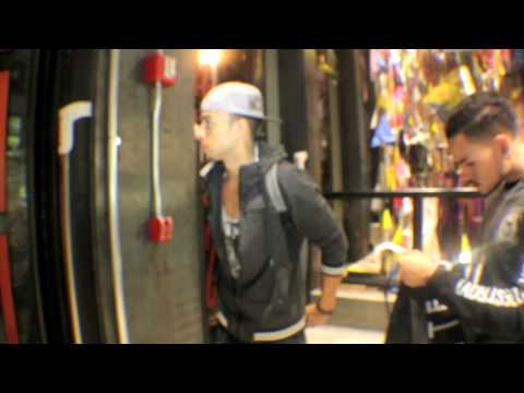 DASH Shopping For A Photoshoot In SOHO In NYC