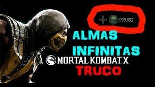 Mortal kombat x mobile truco de almas infinitas | android y ios (parchado)
