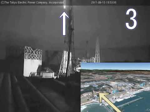 2558=14重=Mystery of Fukushima Nuclear Power Plant謎の福島第一原発事故+上空を飛ぶUFOby Hiroshi Hayashi, Japan