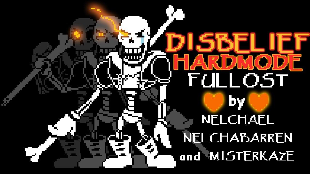[Undertale] DISBELIEF HARDMODE Full OST