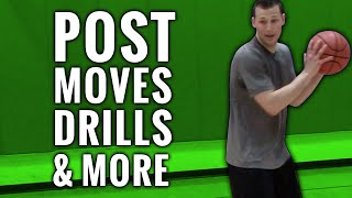 Post player moves, drills, and more: the basketball training series p. 9