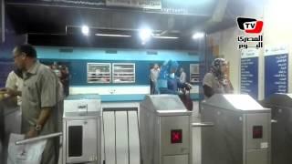 توقف حركة «المترو» من محطة السيدة زينب إلى «الشهداء» لأكثر من ثلاث ساعات