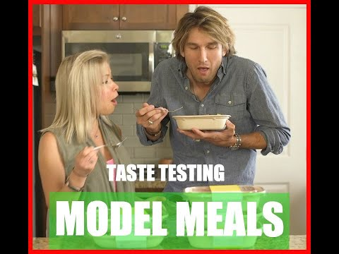 Model Meals Meal Delivery Service Taste Test, By A Model