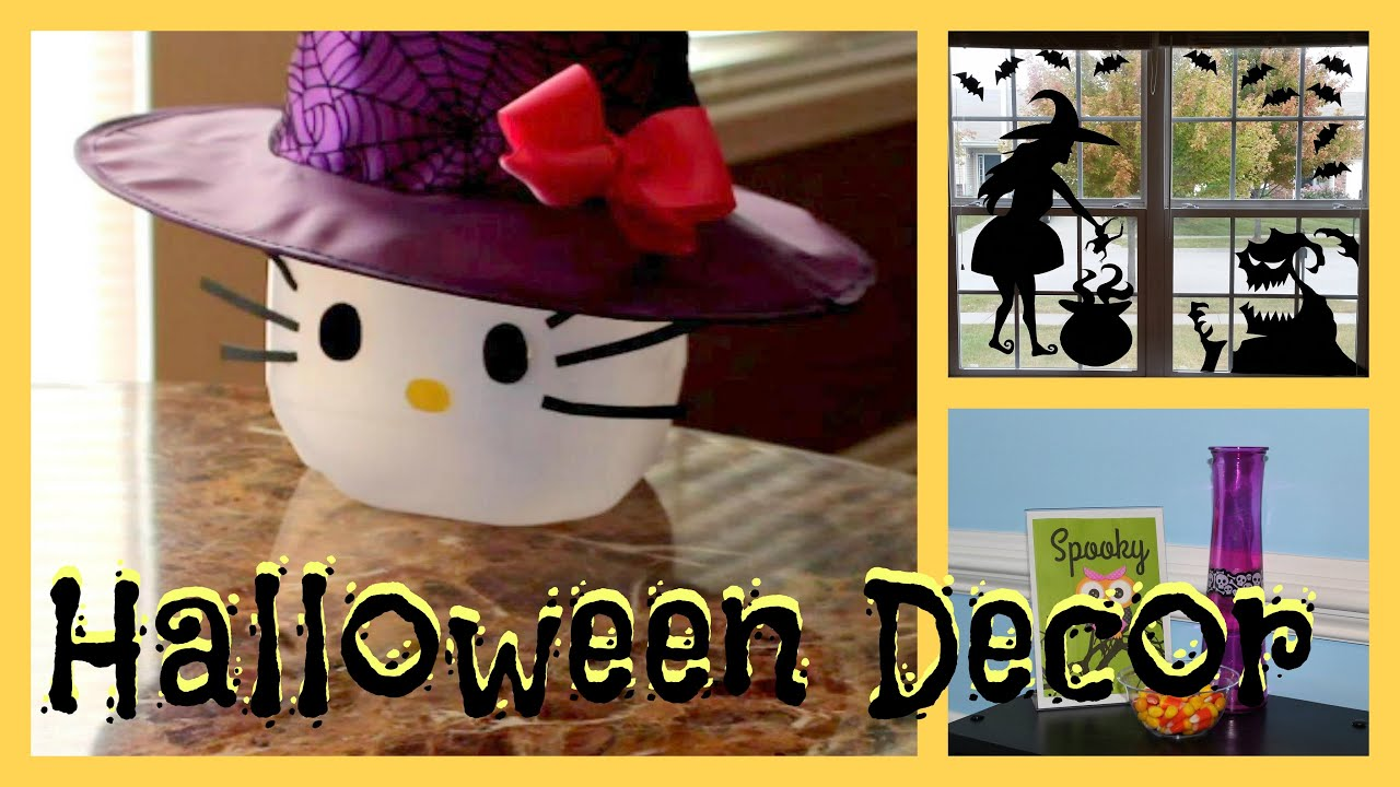 Cute Budget Friendly Halloween Decorations Kid Friendly Youtube