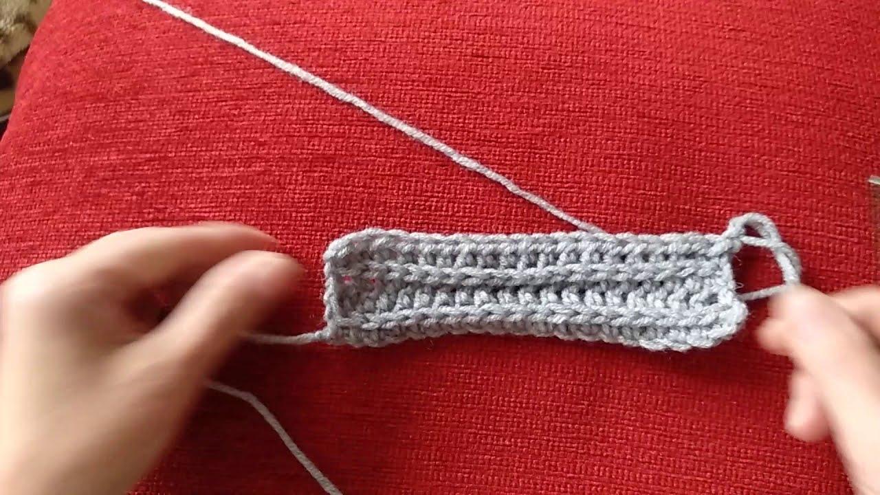 Самое простое вязание крючком для шапки