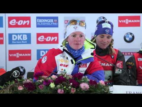 Women's Relay: France, CZech Republic and Russia