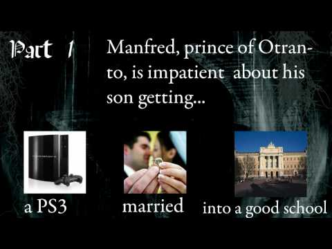 Castle of Otranto interactive presentation 1