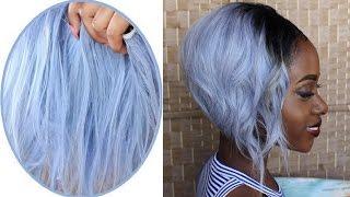 How To Dye Hair Silver/ Grey (BSS Hair)