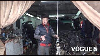Фото с обложки Пробуем Ставить И Заводить Мотор За 50.000 Р.  Range Rover. Vogue 5.