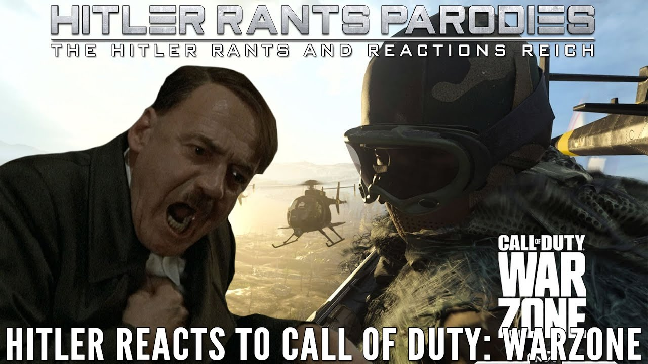 Hitler reacts to Call of Duty: Warzone