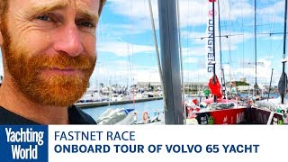 Onboard Tour of Volvo 65 Yacht | Yachting World