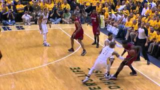 LeBron James Flop Game 3 Heat vs Pacers