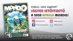 Megjelent az áprilisi Mondo magazin (2020/04)!