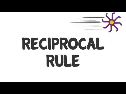 Reciprocal Rule