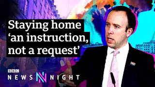 Is the UK lockdown working and when will it end? - BBC Newsnight
