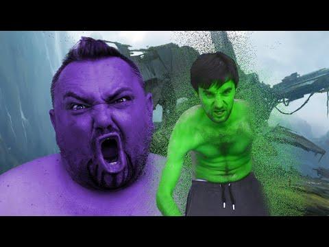 Hulk VS Thanos