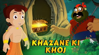 Chhota Bheem - Khazane Ki Khoj | Daku Mangal Singh ke Kahani | Kids video in Hindi