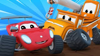Monster trucks for children - Milo is out of control! - Monster Town