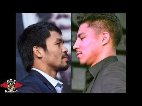 (BREAKING NEWS) MANNY PACQUIAO CHOOSES JESSE VARGAS FOR NOVEMBER 5TH  ACCORDING TO MANAGER