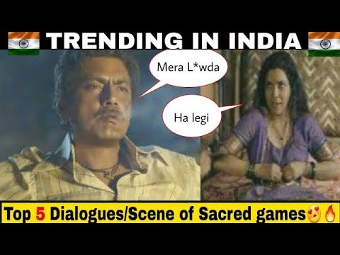 Download Top 5 Dialogues/scenes of Sacred Games | Ganesh gaitonde rocks😍🔥