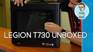 Lenovo Legion T730 GTX 1060 Gaming Desktop Unboxing & First Impressions!