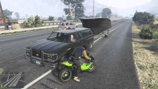 GTA 5 Freemode (Lampadati Toro Found On a Boat Trailer!!!)