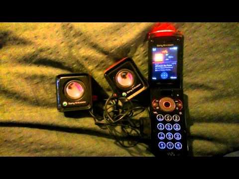 Sony Ericsson W980 with Sony Ericsson Speakers