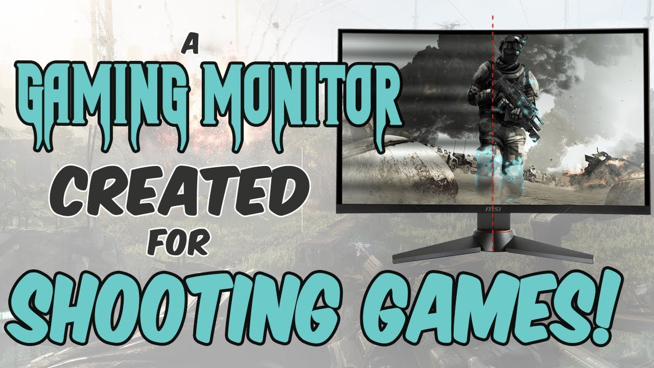 The Best Gaming Monitor for FPS Players? - MSI OPTIX MAG24C