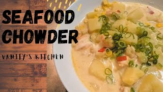 HOMEMADE lOBSTER CHOWDER// BEST EVER // Lobster and Shrimp Chowder Recipe