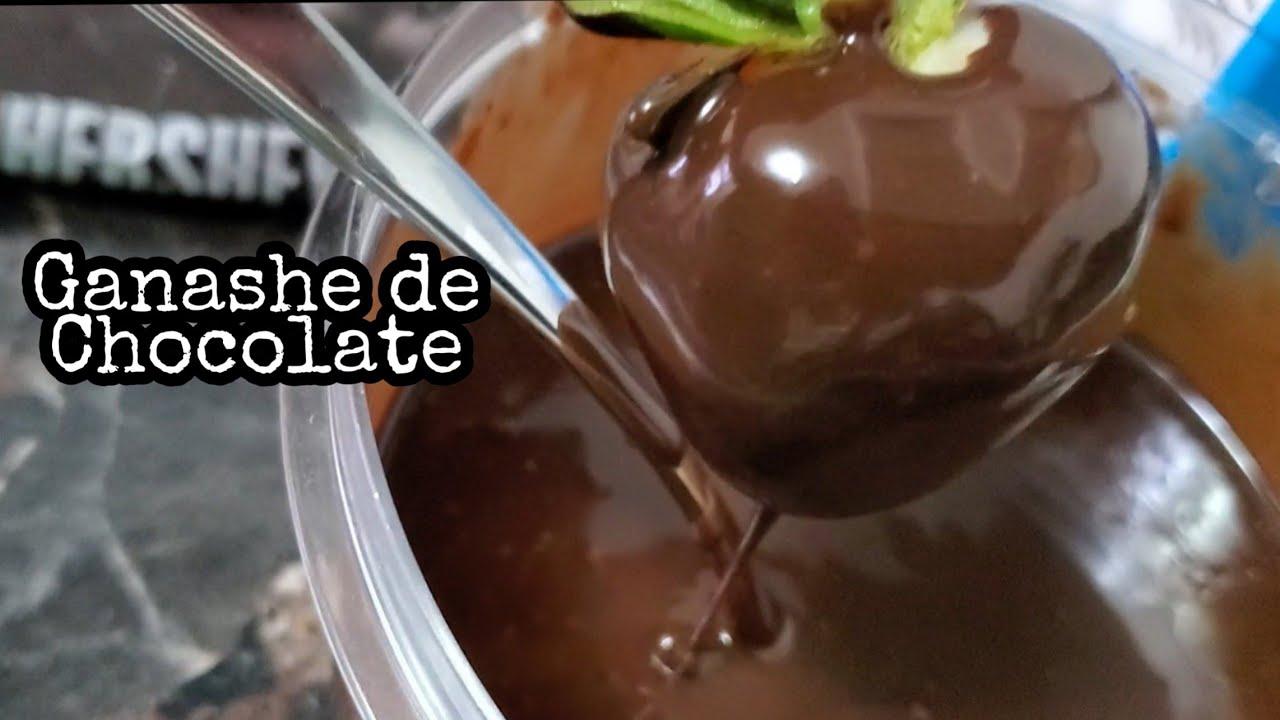GANACHE DE CHOCOLATE super brilloso , aplicable para pasteleria, reposteria y panaderia