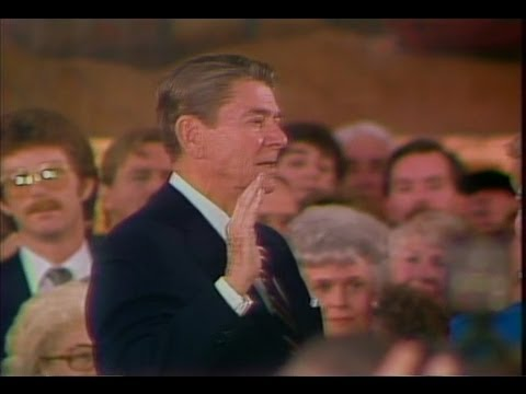 Jan. 21, 1985: Inaugural Ceremonies for Ronald Reagan
