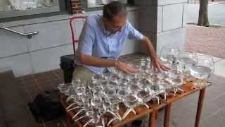 """Erebuni-Yerevan"" («Էրեբունի-Երևան») played by Jamey Turner on the glass harp"