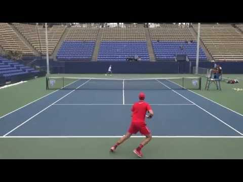 02 07 2015 UCLA Vs SDSU #1 men's singles 4K