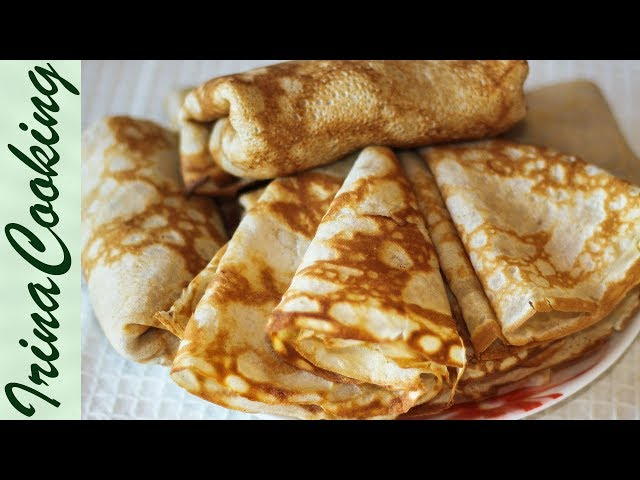 ГРЕЧНЕВЫЕ БЛИНЫ без дрожжей | Buckwheat Pancakes Without Yeast