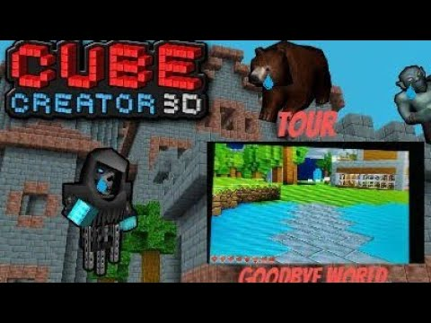Showing My World Before Deleting on Cube Creator 3D |