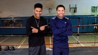 Gervonta Davis Training with Shakur Stevenson | SHOWTIME Boxing
