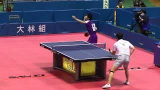 Table Tennis Japan Top 12;Kohei Morimoto vs Kazuhiro Chan 2013.2.24