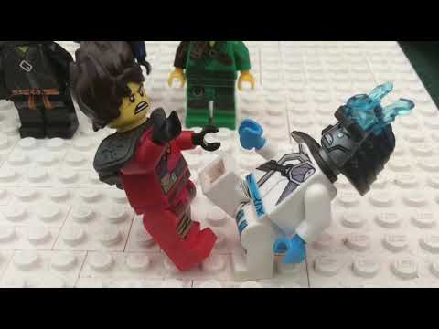 Lego Ninjago war on the land of ice episode 15: fire vs ice