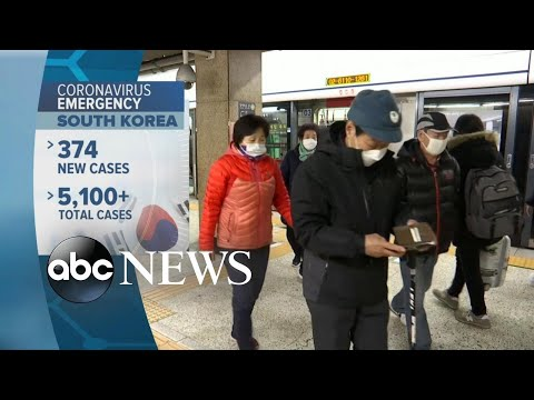 Coronavirus Travel Screenings, Rising Numbers Of Cases In South Korea