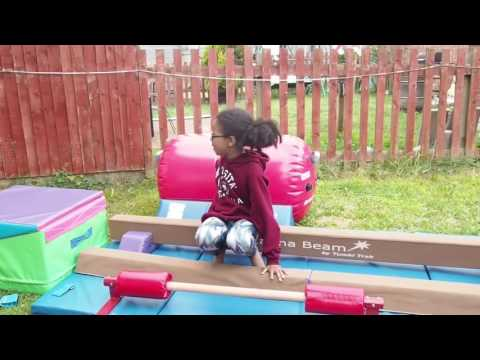 Tumbl Trak Gymnastics Equipment With Demo