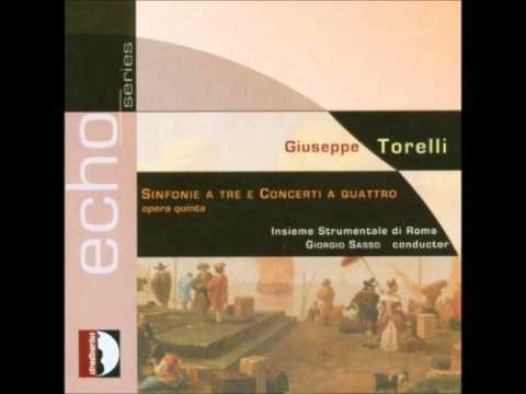 Giuseppe Torelli - Violin Concertos op5